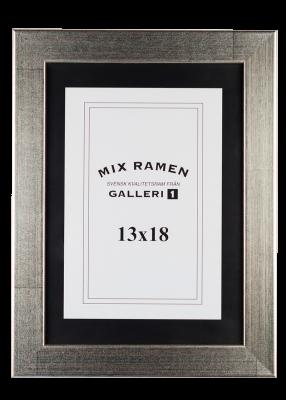 Träram Mixramen 34 silver 13x18 cm