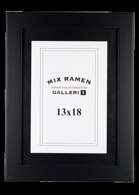 Träram Mixramen 34 svart 13x18 cm