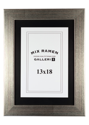 Träram Mixramen 6 silver 13x18 cm